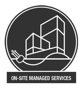 icon for on-site managed services